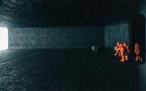 Arrival - nave alienígena, científicos