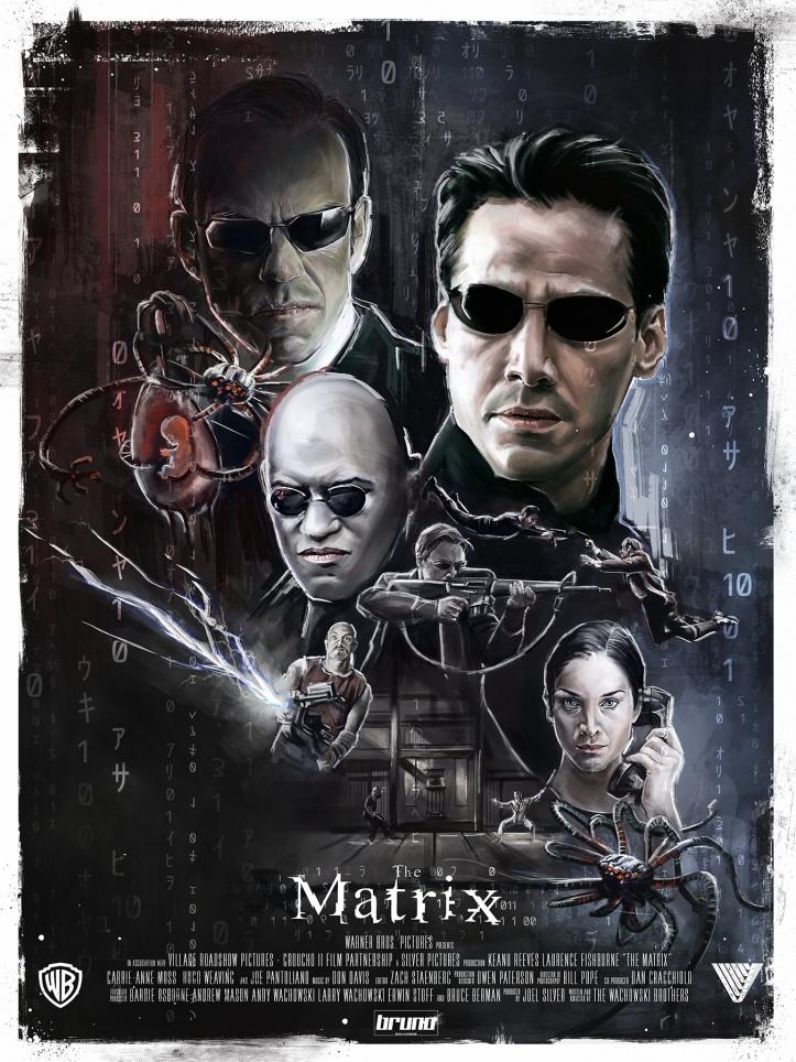 ciclo_Matrix fan poster