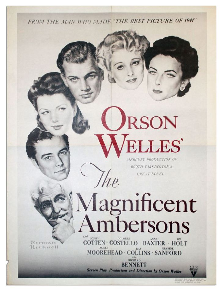 the Magnificente Ambersons